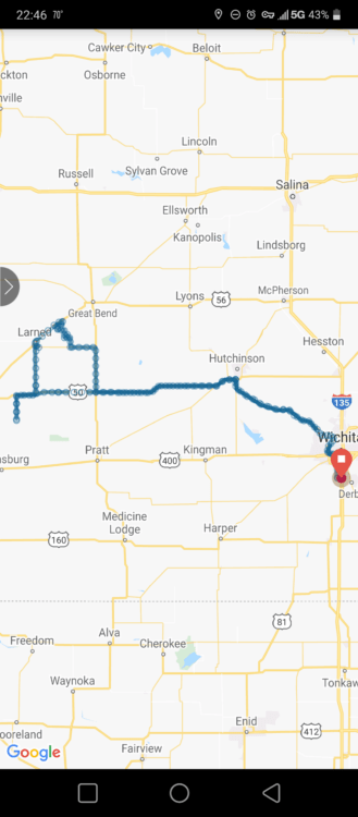 2021 04 06 chase route